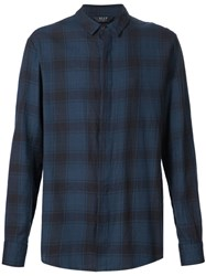Neuw Checked Shirt Blue