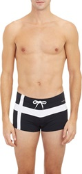 Parke And Ronen Ibiza Cross Resort Swim Briefs Black Size Xs