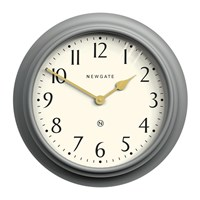 Newgate Westhampton Wall Clock Posh Grey