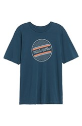 Travis Mathew Officially Unofficial Graphic T Shirt Blue Nights