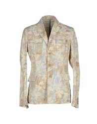 Love Moschino Suits And Jackets Blazers Men Beige