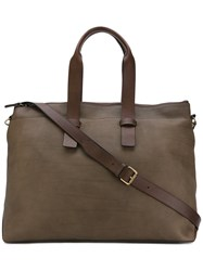 Officine Creative Arman Tote Women Calf Leather One Size Brown