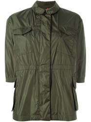 Moncler Tatin Field Jacket Green