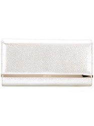 Jimmy Choo Maia Clutch Nude Neutrals