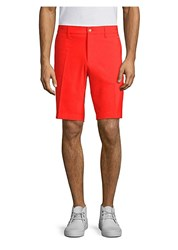 J. Lindeberg Eloy Micro Stretch Shorts Racing Red
