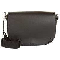 Jaeger Aster Leather Across Body Bag Black
