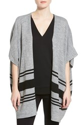 Women's Cupcakes And Cashmere 'Toro' Stripe Open Front Cardigan