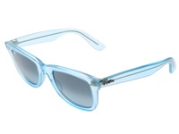 Ray Ban Rb2410 Original Wayfarer Ice Pops 50Mm Demi Gloss Ice Plastic Frame Fashion Sunglasses Blue