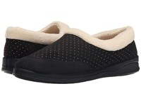 Foamtreads Keira Black Women's Slippers