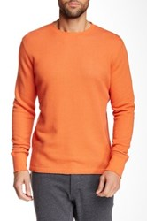 Relwen Thermal Crew Neck Sweater Orange