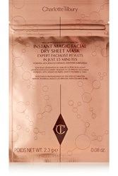 Charlotte Tilbury Instant Magic Facial Dry Sheet Mask X 4 One Size Colorless