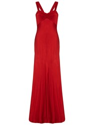 Ghost Bea Dress Chilli Red