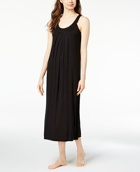 Alfani Pleated Nightgown Created For Macy's Classic Black