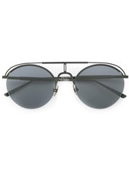 Dion Lee Nylon Sunglasses Black