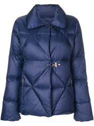 Fay Puffer Jacket Feather Down Polyamide L Blue