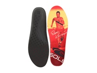 Dean Karnazes Signature Sole Red Yellow Men's Insoles Accessories Shoes Multi