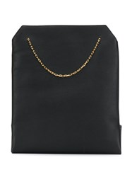 The Row Chain Tote Bag Black