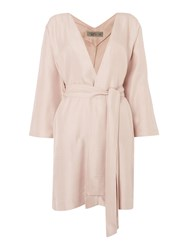 Label Lab Hay Textured Kimono Dusty Pink