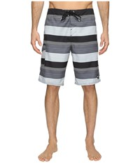 O'neill Santa Cruz Stripe Boardshorts Black Men's Swimwear