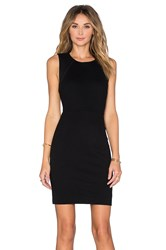 Three Dots Johanna Mini Dress Black