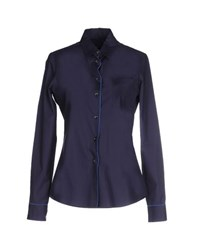 New York Industrie Shirts Shirts Women Blue