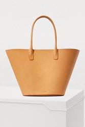 Mansur Gavriel Triangle Vegetable Tanned Tote Bag
