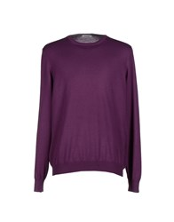 Gran Sasso Knitwear Jumpers Men Mauve