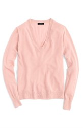 J.Crew Women's Featherweight Cashmere Pullover Dusty Shell
