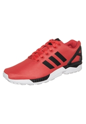 Adidas Originals Zx Flux Trainers Poppy Black Running White Red