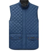 Belstaff Slim Fit Quilted Shell Gilet Navy