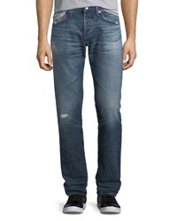 Ag Adriano Goldschmied Matchbox Slim Straight Jeans In 17 Years Psych