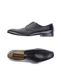 Cesare Paciotti Footwear Lace Up Shoes Men Black