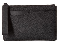 Ecco Jilin Zipped Wallet Black Wallet Handbags