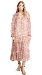 Free People Feeling Groovy Maxi Dress Red