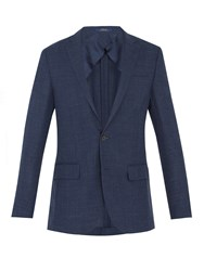Polo Ralph Lauren Single Breasted Notch Lapel Blazer Navy