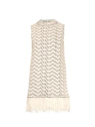 Proenza Schouler Weaving Jacquard Sleeveless Top