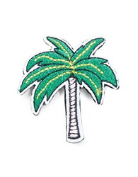 Rj Graziano Palm Tree Patch Pin Green