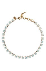 Loren Hope Women's 'Kaylee' Collar Necklace Matte Iridescent