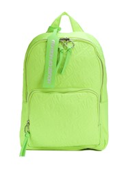 House Of Holland Embroidered Logo Backpack Green