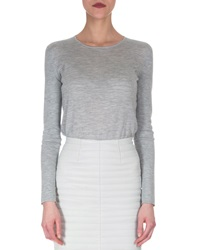 Akris Cashmere Silk Knit Pullover Top