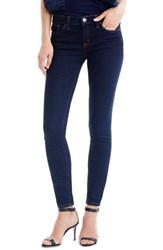 J.Crew Women's Toothpick Crop Skinny Jeans Classic Rinse