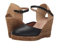 Eric Michael Honey Black Women's Wedge Shoes