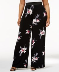 Alfani Plus Size Floral Print Palazzo Pants Only At Macy's Flower Trail