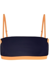 Alexander Wang Two Tone Bandeau Bikini Top
