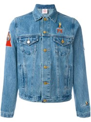 Joyrich 'Bart' Patch Denim Jacket Blue
