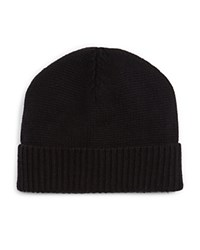 The Men's Store At Bloomingdale's Chunky Rib Cuff Hat Black