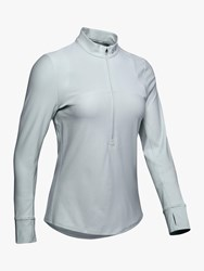 Under Armour Qualifier 1 2 Zip Running Top Green