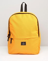 Asos Backpack In Yellow Yellow