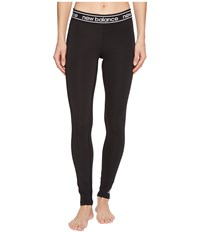New Balance Accelerate Tights Black Workout