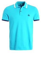 United Colors Of Benetton Polo Shirt Blue